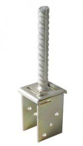 adjustable post anchor