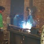 welding of ground screw