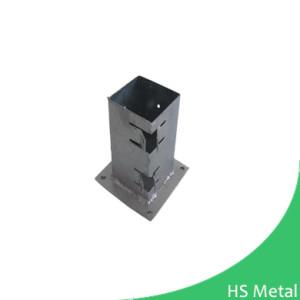 square adjustable post base