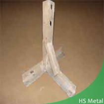 steel post holder