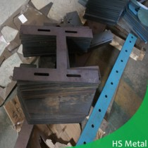 H type DIY steel plate