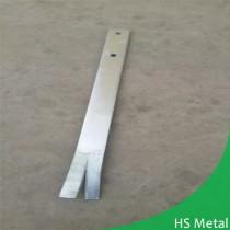 DIY steel support post