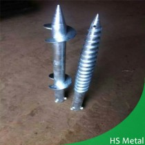 galvanized ground screw manufacturer