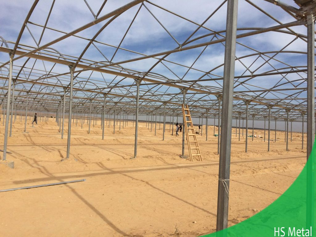 greenhouse steel structures